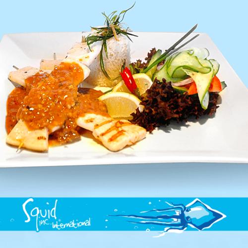 Squid Inc Int. 006-Calamari-Satay