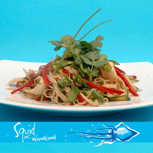 Squid Inc Int. 011-Calamari-Glass-Noodle-Salad
