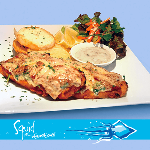 Squid Inc Int. 012-Calamari-Steak-Parmegana