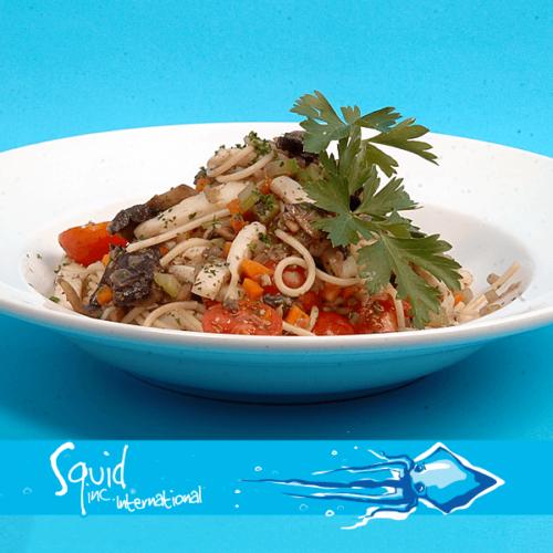 Squid Inc Int. 013-Shredded-Calamari-&-Spaghettini