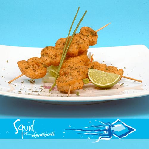 Squid Inc Int. 018-Lemon-Parsley-Crumbed-Calamari-Skewers