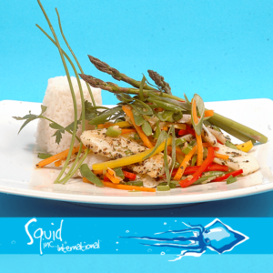 Squid Inc Int. 019-Grilled-Calamri-with-New-Season-Vegetables