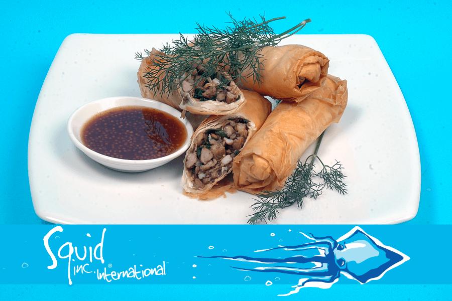 Squid Inc Int. 026-Calamari-Filo-Pastry-Rolls