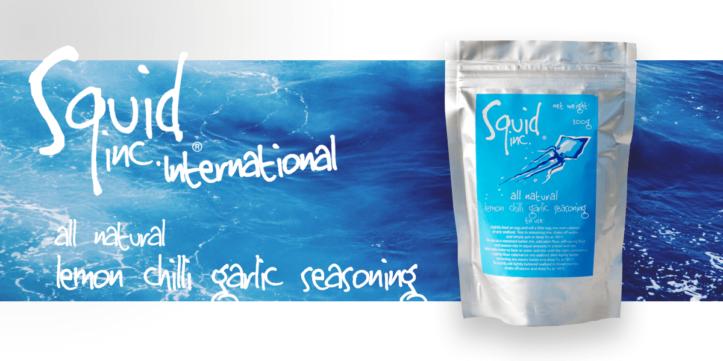 Squid Inc. International - lemon chilli garlic seasoning